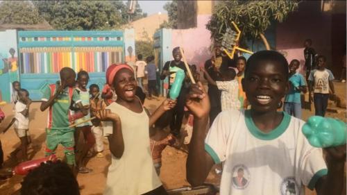 DrumOnAir-Workshops in Ghana & Burkina Faso